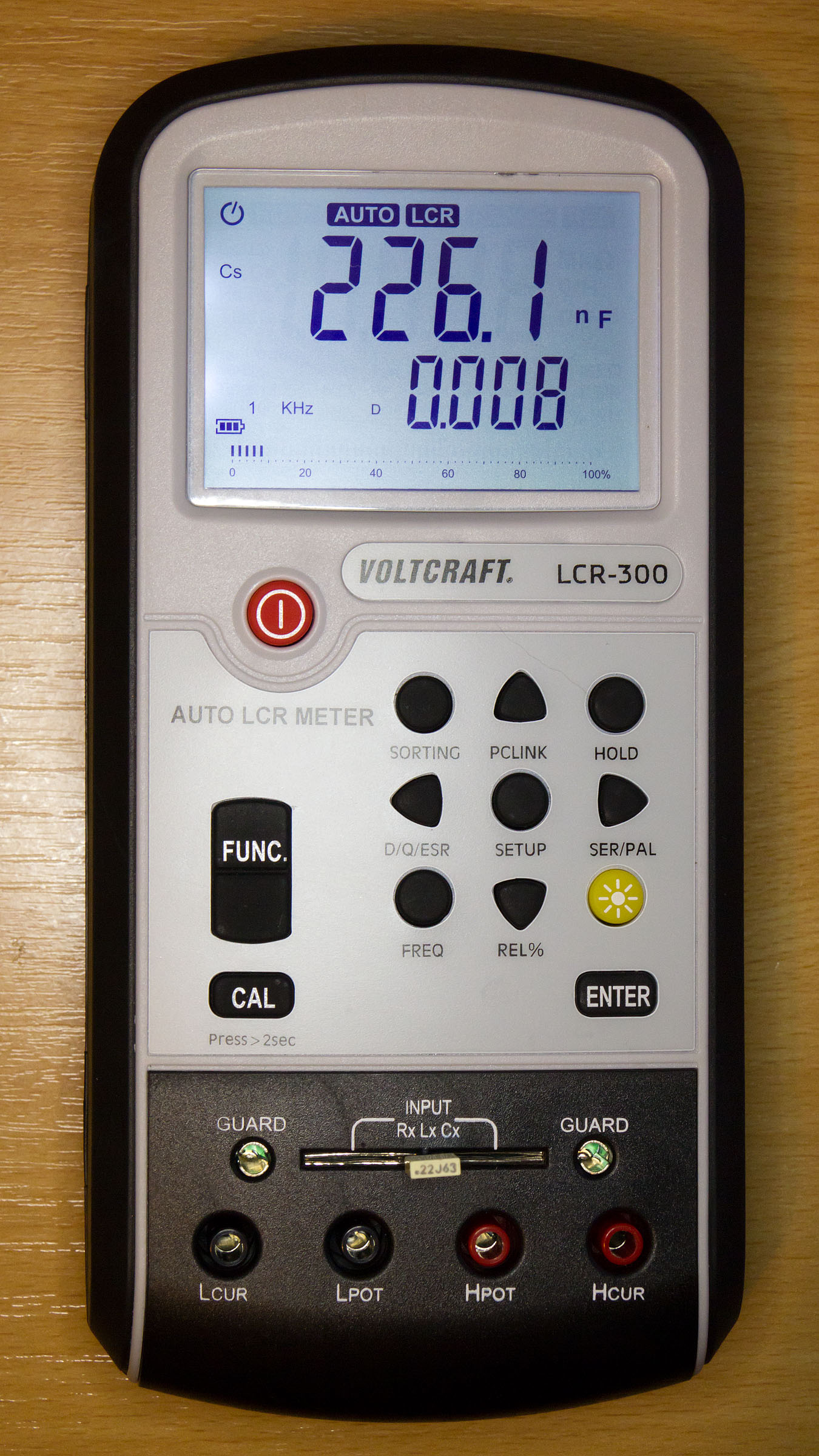 Voltcraft Lcr 300 Micro Review Page 1 New Capacitor Esr Dcr Tester In Circuit Capacitance Meter Ebay I Finally Bought An Specifically The From Rapid